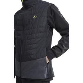 Craft Storm Thermisch Vest Heren, black/asphalt